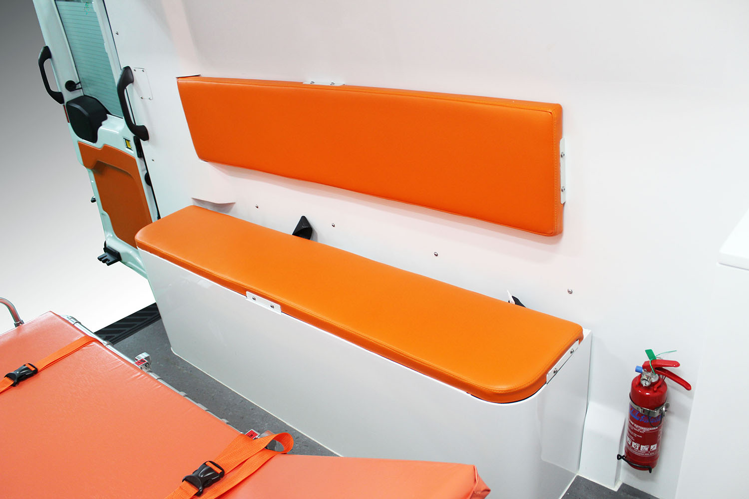Bench Seat with seatbelt