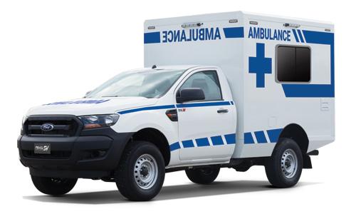 Box Type Life Support Ambulance