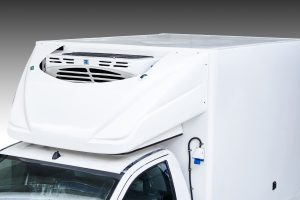refrigerated pick up interior