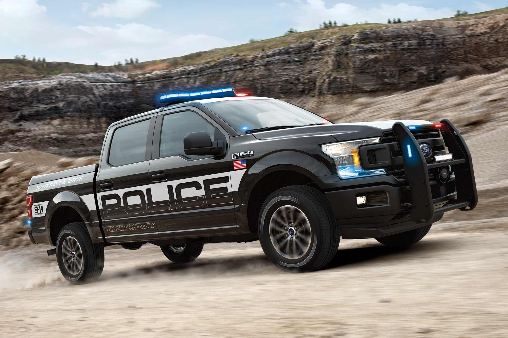 POLICE FULL SIZE DOUBLE CAB