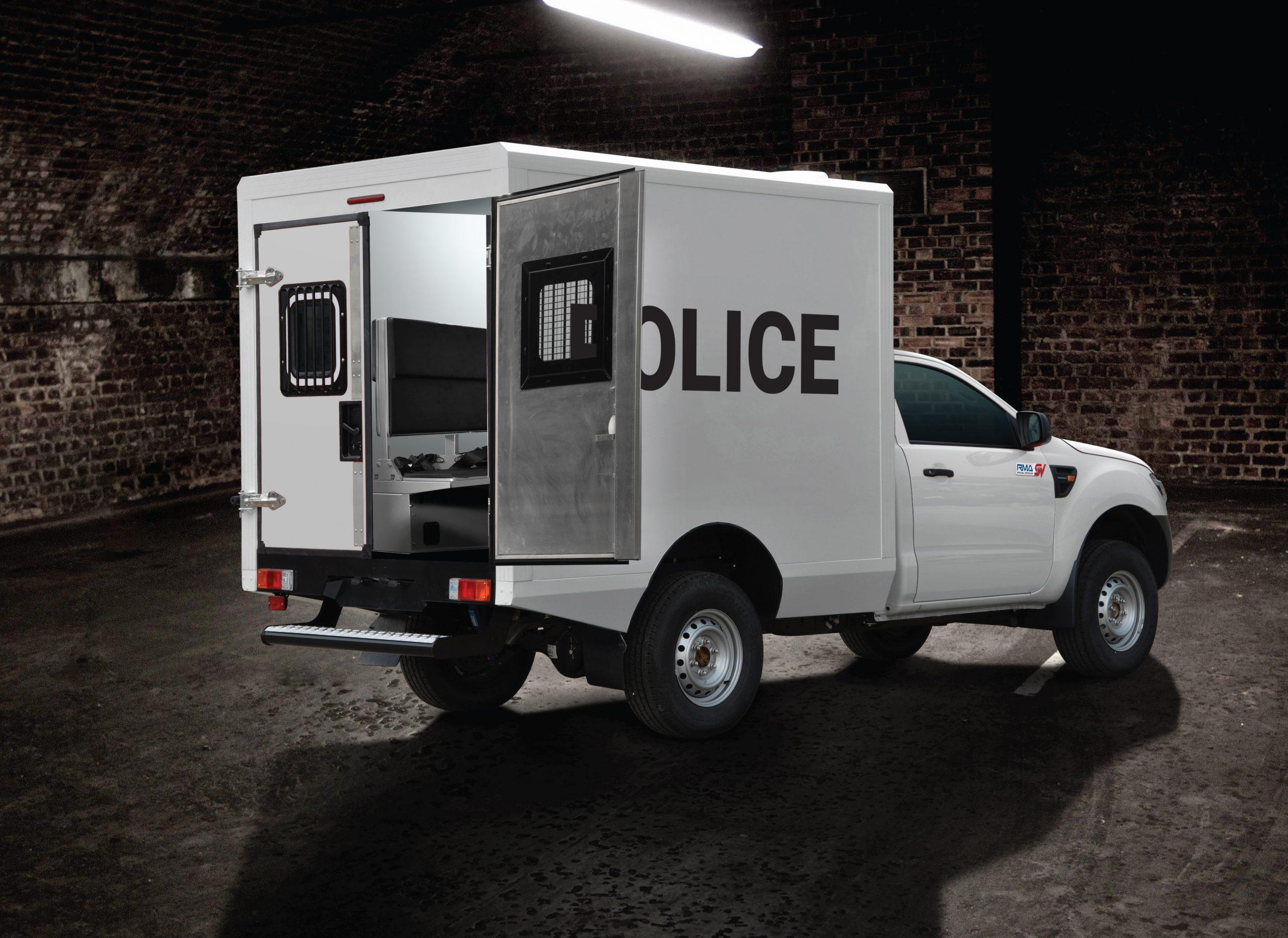 POLICE PICKUP TRUCK
