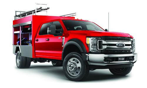 Super Duty Fire Truck