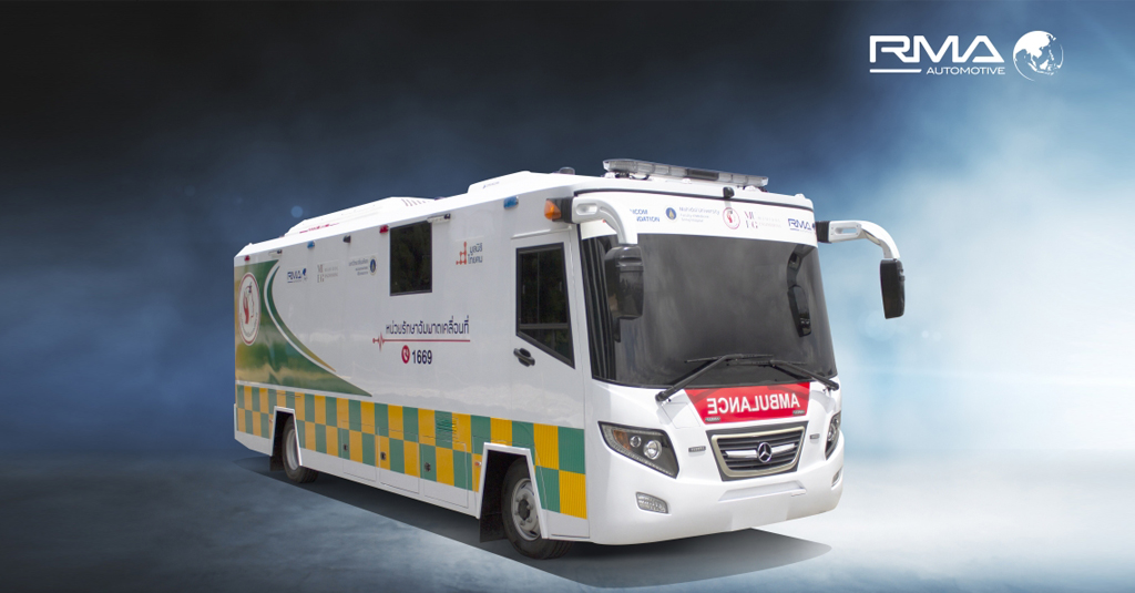 Mobile Stroke Unit - special vehicles