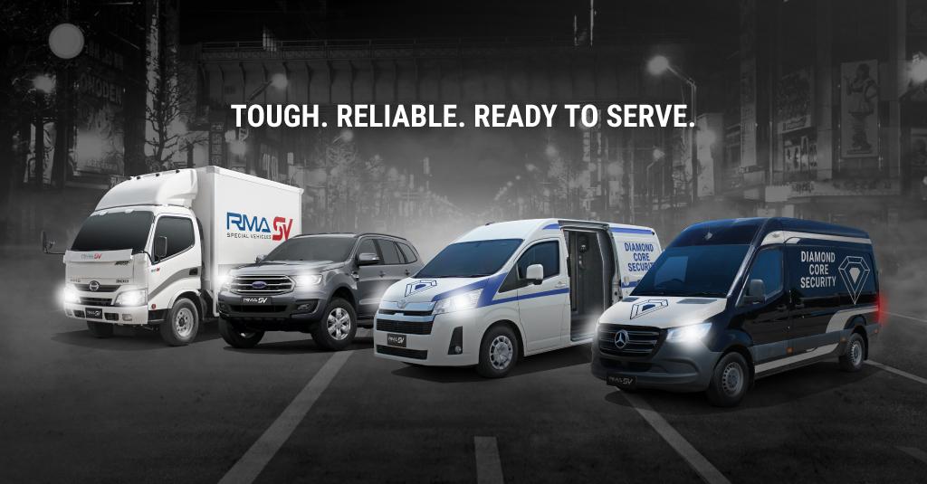 RSV cash-in-transit vehicles