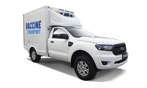 Vaccine truck